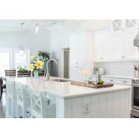 Kitchen Island Natural Quartz Countertops In Light Color Pre Cut Quartz Countertops