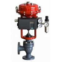 Buy cheap Pneumatic diaphragm intelligent  angle single-seat control valve product