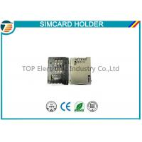 Buy cheap Gold ATTEND SIM CARD Socket SIM Card Holder 115A-ADA0-R02 product