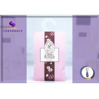 Buy cheap elegant hanging Cherry Blossom Scented Envelope Sachet fresh scents sachets from wholesalers