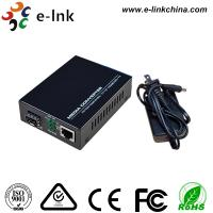 Buy cheap 10 / 100M Fiber Ethernet Media Converter , Ethernet To SFP Fiber Media Converter product