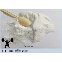 Buy cheap White Crystalline Powder Fulvestrant Breast Cancer Treatment CAS 129453-61-8 from wholesalers