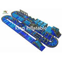 Buy cheap Customized Gaint Inflatable Ostacle Course Sport Games PVC Outdoor For Adults from wholesalers