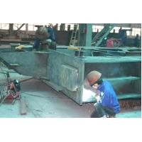 Buy cheap Structural Steel Buildings Frames Fabricated By Cutting , Drilling , Welding from wholesalers