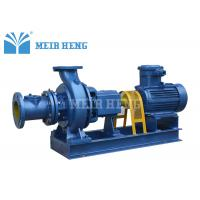Buy cheap Horizontal Centrifugal Sewage Pump / Rubber Spider Coupling Non - Clog Pulp Pump from wholesalers