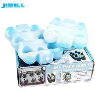 Buy cheap Factory Custom Reusable 6 pack beer bottle cooler holder for Drink cooling from wholesalers