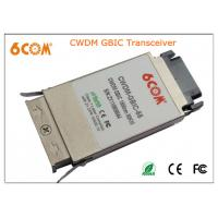 Buy cheap CWDM GBIC Transceiver module 1.25G 80KM , 1270nm to 1610nm for Network from wholesalers