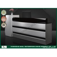 Buy cheap OEM & ODM Large wooden cash counter in shops , cash register display counter from wholesalers