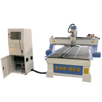 Buy cheap 3 Axis 1325 Atc Cnc Wood Router 8X4 Auto Tool Changer Woodworking Cutting Slotting Machine from wholesalers