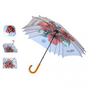 Buy cheap Crook handle auto open straight umbrella product