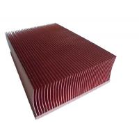 Buy cheap Customized Skiving Copper Pipe Heat Sink CNC Turning For Computer Mainboard from wholesalers