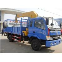 Buy cheap Dongfeng diesel 95hp 3ton telescopic boom mounted on truck, hot sale best price dongfeng 4*2 RHD 3tons truck with crane from wholesalers