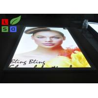 Buy cheap Aluminum LED Snap Frame Light Box With Ceiling Hanging Bracket For Menu Display from wholesalers