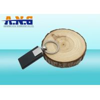 Buy cheap Printed Passive Black ABS Rfid Key Fob for Access Control Systems and Security from wholesalers