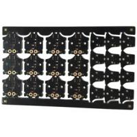 Buy cheap Double-sided PCB with Lead-free HAL/Peelable Mask/1.6mm Board Thickness/0.4mm Minimum Hole Size from wholesalers