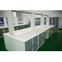 Buy cheap Colorful Epoxy Resin Worktop , Lab Island Bench With Radius / Bevel Edge from wholesalers