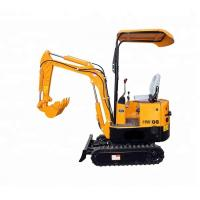 Buy cheap Micro Hydraulic Crawler Excavator For Small Works Low Oil Consumption from wholesalers