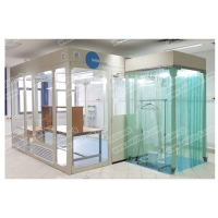 Buy cheap Modular design clean room ISO 5 clean booth from wholesalers