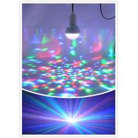 Buy cheap led stage 3W RGB led lamp rotation disco led bulb lighting LXG110 from wholesalers