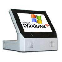 Buy cheap Digital Self Service Touch Screen Retail Payment Countertop Kiosk / Desk Top Kiosks from wholesalers