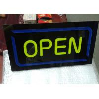 Buy cheap Restaurant Outdoor Neon Open Sign / LED Signs Board Shop Name Board Design from wholesalers
