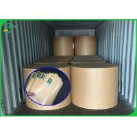 Buy cheap Stable Quality FSC Certificate Brown Kraft Paper Roll With PE Coated from wholesalers