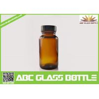 Buy cheap Medicine Tablet 200ml Amber Glass Bottles For Ppharmaceutical Industrial Use product