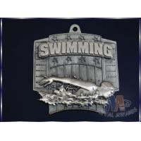 Buy cheap Antique Gold Plating Custom Engraved Medals Personalised Medallions For Sports from wholesalers