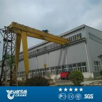 Buy cheap Yuantai semi gantry crane design from wholesalers