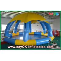 Buy cheap PVC DIA 5m Summer Inflatable Sports Games Inflatable Swimming Pool With Roof Cover from wholesalers
