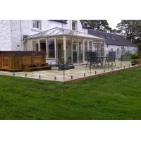 Buy cheap Residential Glass Railing Systems Glass Balustrade Design For Decking from wholesalers