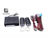 Buy cheap 3 Buttons Car Security System , Car Alarm Systems With Remote Start And Keyless Entry from wholesalers