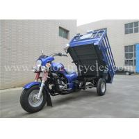 Buy cheap Manul Clutch 3 Wheel Cargo Motor Tricycle Trike , Gasoline Tricycle 150cc 175cc 300cc product