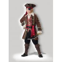 Buy cheap Captain Skullduggery 7043 Funny Halloween Costumes , Brown Childrens Fancy Dress from wholesalers