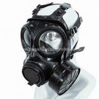 Buy cheap Military Gas Mask, Cover Body with Chlorinated Butyl Rubber, Against Chemical and Biological product
