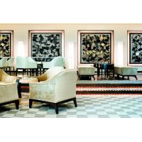 Fabric Chair Hotel Lobby Furniture With Lobby Uphostery Cushion Sofa Set
