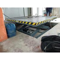 Buy cheap Custom Electric Hydraulic Dock Lift Platform Scissor Table Lift 3000kg from wholesalers