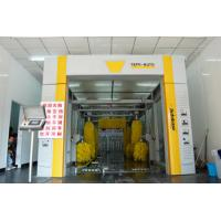 Buy cheap Professional Development Express Car Wash Equipment , High End Standard Tunnel Washing Machine from wholesalers