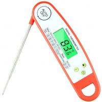 Buy cheap DTH-128 Super Fast Instant Read Meat Thermometer-Waterproof Digital Meat Thermometer with Backlight & Calibration from wholesalers