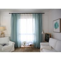 Buy cheap Home / Hotel Modern Window Curtains Multiple Colors Lightweight For Bedroom from wholesalers
