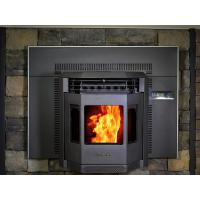 Buy cheap Auto Feeling Wood Pellet Fireplace For Wood Burner Cast Iron / Steel Material from wholesalers