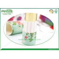Buy cheap Printed Paper Lipstick Tubes Full Color Printing Environmentally Friendly product