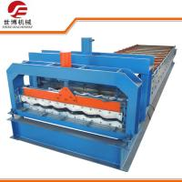 Buy cheap Half Round Glazed Tile Making Machine SB 23 - 165 - 1100 For Roof Making from wholesalers