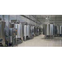 Buy cheap Plastic Bottle Package Yogurt Production Line With Raw Milk Testing 1000 L/H from wholesalers