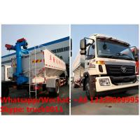 Buy cheap factory sale good price customized FOTON 190hp 8tons-12tons farm-oriented and livestock poultry feed delivery truck from wholesalers