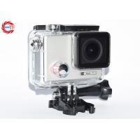 Buy cheap Adjustable Angle Waterproof Action Camera With Gyroscope , OEM 4K Action Camcorder from wholesalers