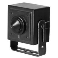 Wired 3.7mm Pinhole Cctv Camera Night Vision , Mini Pinhole Spy Camera PAL TV System