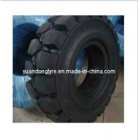 Buy cheap Pneumatic Shaped Solid Tyre, Forklift Tyre (4.00-8, 15*41/2-8, 16*6-8, 18*7-8) from wholesalers