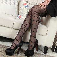 Buy cheap 20D ladies bandage jacquard tights/pantyhose/transparent hosiery/Europe & America style from wholesalers