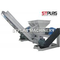 Buy cheap Twin Shaft Industrial Plastic Shredder Machine For Container Drum Barrel Crushing from wholesalers